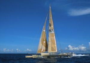Trimaran Pierre 1er skippé par Florence Arthaud