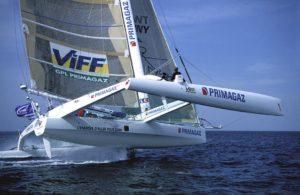 ORMA 60' trimaran skippé par Laurent Bourgnon