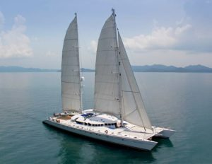 Catamaran Douce France VPLP design