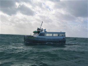 Lokeya catamaran de pêche conçu pour Franck-Yves Escoffier par VPLP