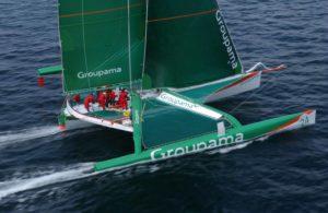 ORMA Groupama 2 skippé par Franck Cammas