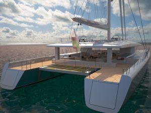 Concept catamaran Boreas VPLP design