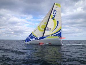 Imoca Macif skippé par François Gabart