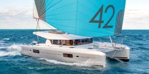 Catamaran Lagoon 42 quatrième génération