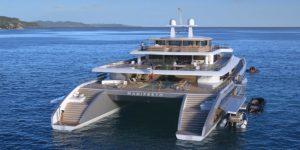 Manifesto superyacht catamaran concept VPLP