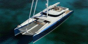 VPLP 170 concept catamaran par VPLP design