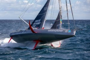 Imoca Malizia II Yacht Club de Monaco