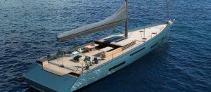 Superyacht Ampersand Monaco Yacht Show concept par VPLP