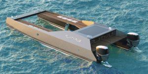 Bateau de plongée sous-marine Platypus Craft