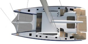 Catamaran Outremer 7X par VPLP design