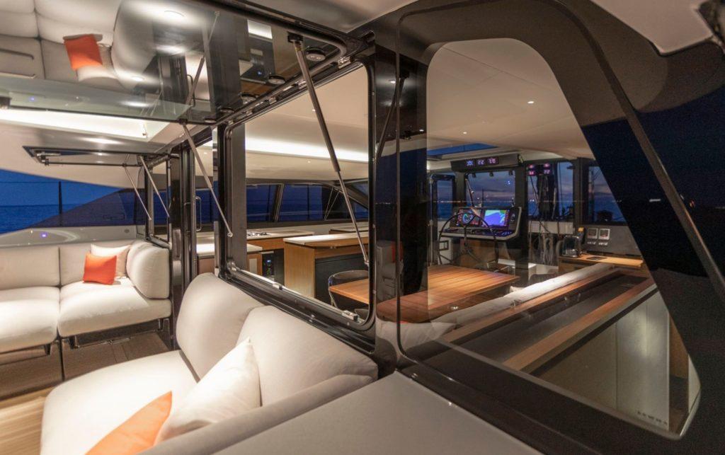 Interior Catamaran Gunboat 68