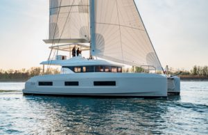 Catamaran Lagoon 55 VPLP design