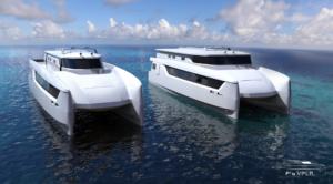 Fast Foiling Ferry par VPLP