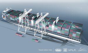 Trade Wings cargo à ailes VPLP design