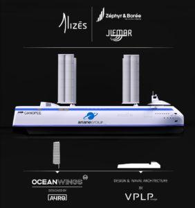 Transport à la voile