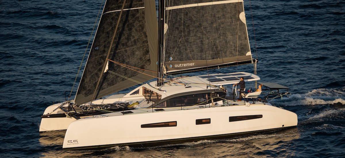 Outremer 55 par VPLP design et Outremer Yachting