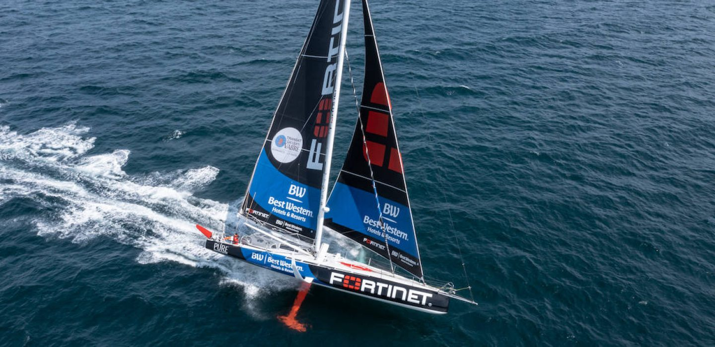 Imoca Fortinet - Best-Western Romain At