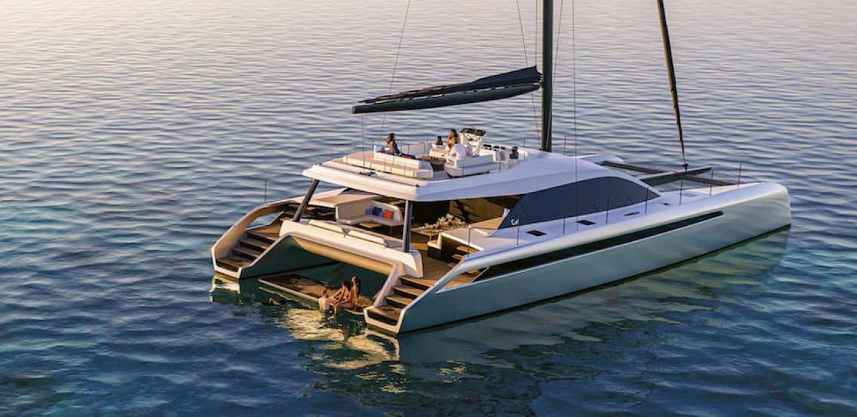 Gunboat 72V par VPLP design et Gunboat