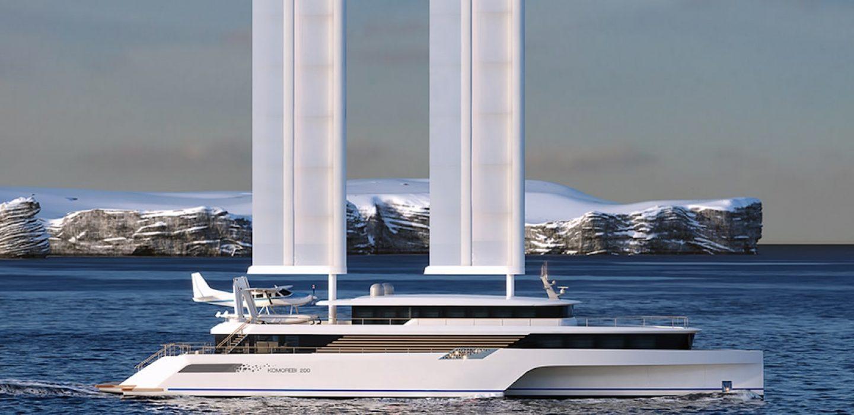 Catamaran d'exploration Komorebi 200 par VPLP Design