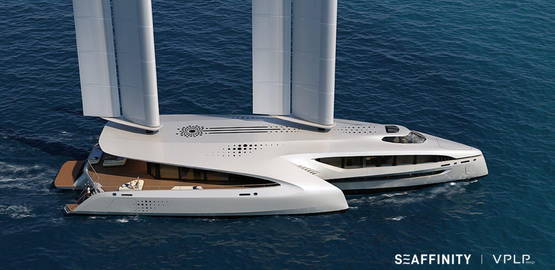 Multihul superyacht SEAFFINITY