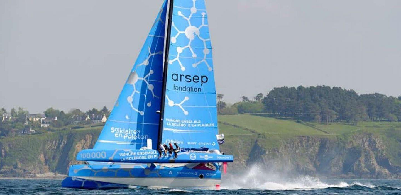 Ocean Fifty Solidaire en Peloton Arsep