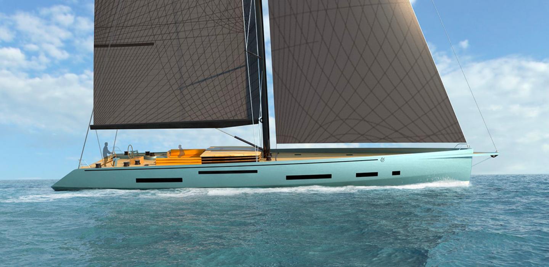 Superyacht Ampersand Monaco Yacht Show concept par VPLP design