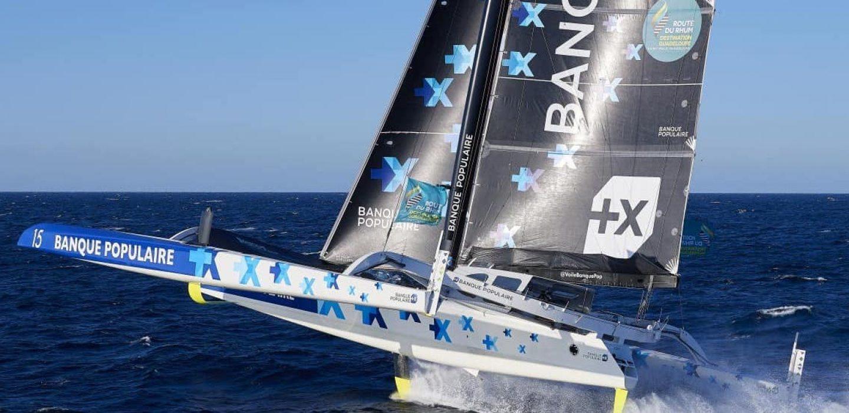 Ultim Maxi Banque Populaire IX skippé par Armel Le Cléac'h