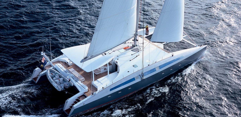 Catamaran Ciliam par VPLP design