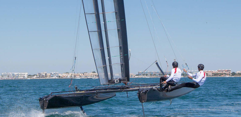 Catamaran Classe C conçu pour l'équipe Hydros par VPLP Design