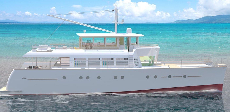 Catamaran Noah VPLP design