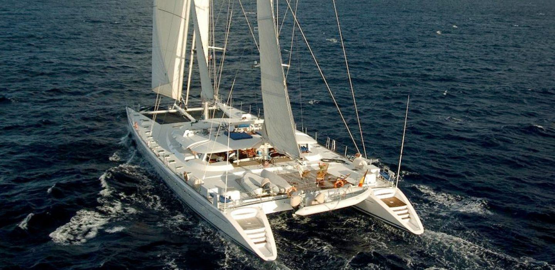 Catamaran Douce France par VPLP design