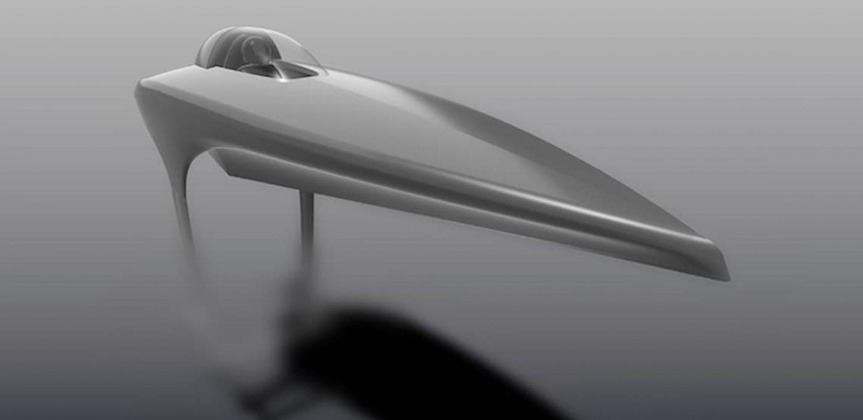 Electric Racing Powerboat dessiné par VPLP design