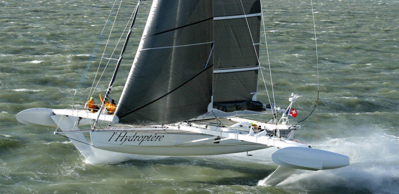 L'Hydroptère foiler grande vitesse VPLP