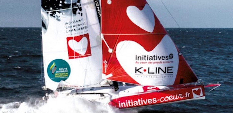 Imoca Initiatives Coeur 3 skippé par Sam Davies