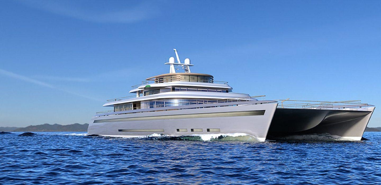 Manifesto superyacht catamaran concept VPLP design
