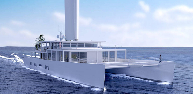 Concept studio at sea catamaran atelier par VPLP