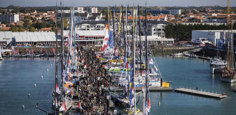 Vendée Globe 2016 ponton Imoca
