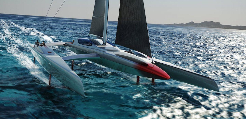 S-jet bateau issu de la collaboration entre VPLP design et Airbus